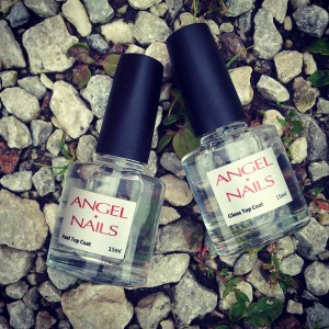 Tõelised lemmikud ja kohustuslikud tooted küüntearmastaja varustuses!  Angel Nails  Fast Top Coat (15ml) Gloss Top Coat (15ml)